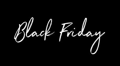 Black Friday / Cyber Monday Sale 2018