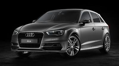 Duncan Dix Audi A3 project lit with HDR Light Studio