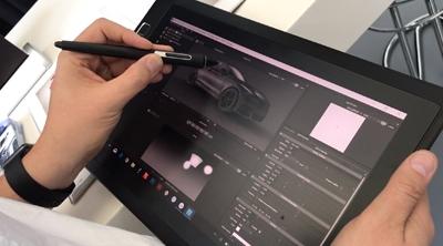 HDR Light Studio on Wacom MobileStudio Pro 13
