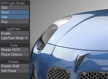 Our LightWave plug-in creates a live link with HDR Light Studio