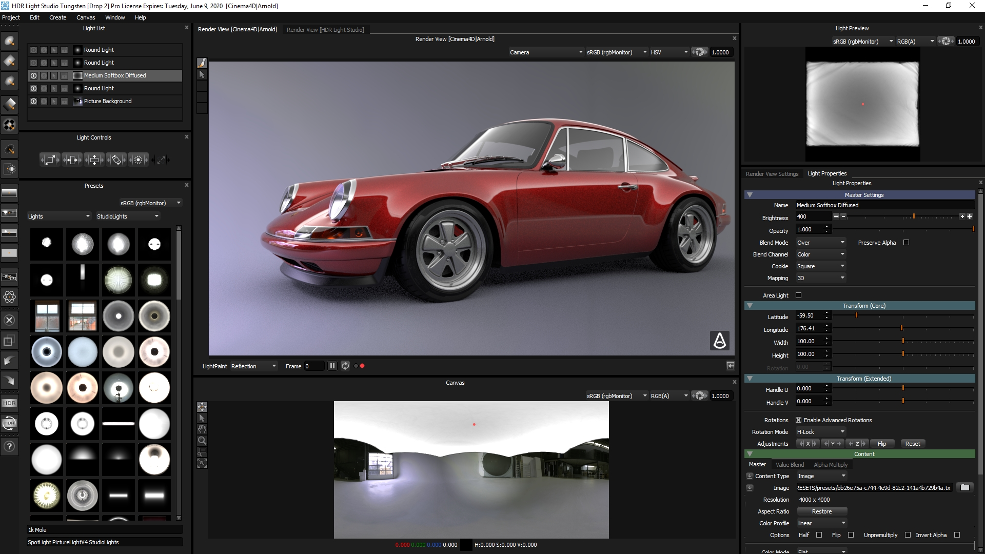 cinema 4d hdri studio download