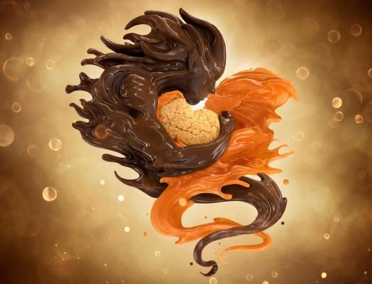 Caramel Loves Chocolate by Luminous Creative Imaging