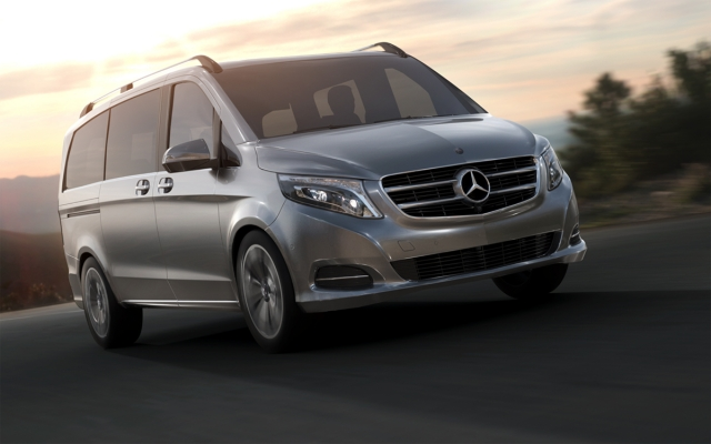 Mercedes Benz V250 - Allan Portilho Studio