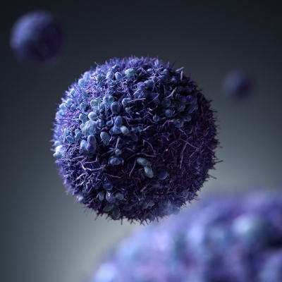 Cancer Cell by Dmitriy Ten