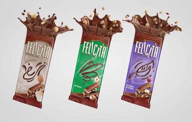 Felicita Chocolate Bars by Serg Klyosov
