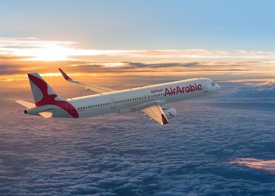 Air Arabia airline branding by Muharraqi Studios