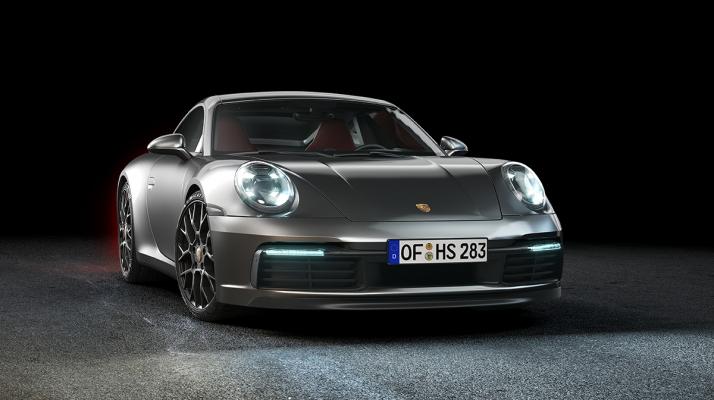 Porsche 911 by Artem Shkirenko