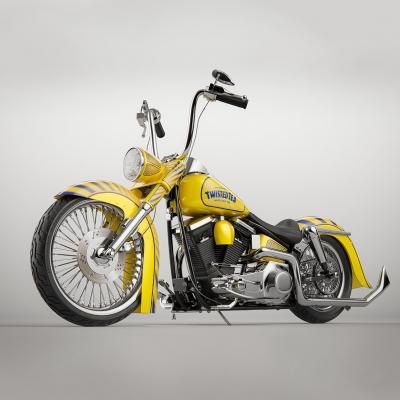 Twisted Tea Harley Davidson by Brendan McCaffrey