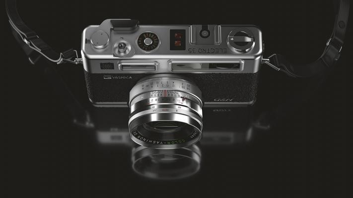 Yashica Vintage Camera by Wessam Elqushairy