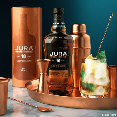 Jura Scotch Whisky by Sonoco Trident