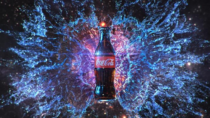 Cola Splash - Yannik Hess - Outside the Club GmbH