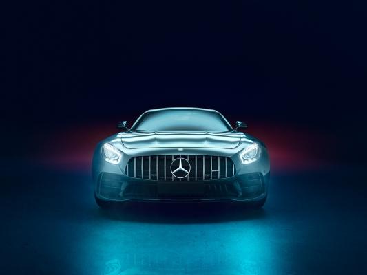 Mercedes AMG GTR by Sergio Latorre