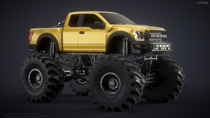 Ford Raptor by www.ram-studio.hr