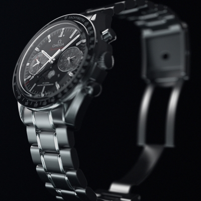 Omega Speedmaster Watch by Mohammed Anis Pathan