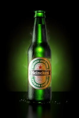 Heineken Beer by Jonathan Rodrigues
