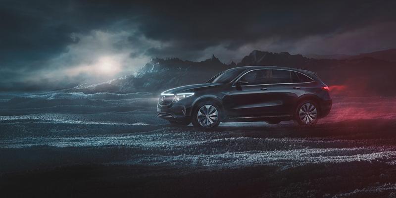 Mercedes-Benz EQC by Mondlicht Studios