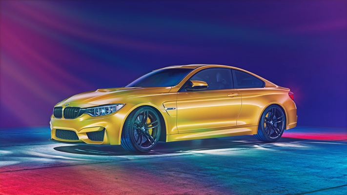 80s Inspired BMW M4 by Giuseppe Difilippo