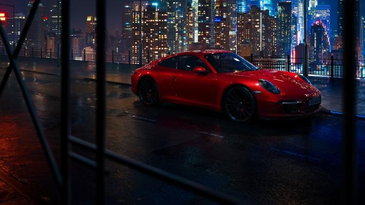 Porsche 911 by Val Nuke