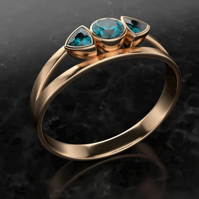 Ring by Toufik Djerraya