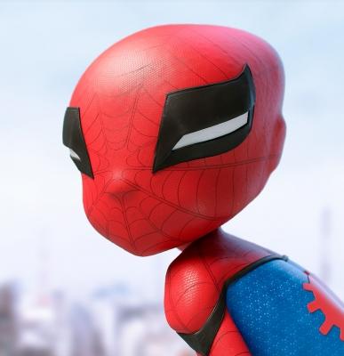 Spider Boy by Jader Souza