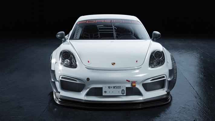 Porsche Cayman by Goon