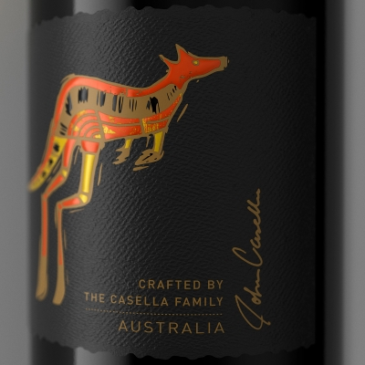 Yellow Tail Wine Label (detail shot) by Ben Greenfield
