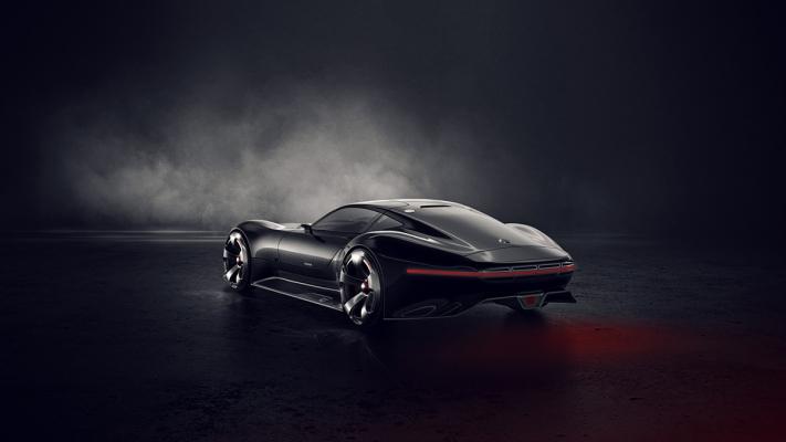 Mercedes AMG Vision Gran Turismo by Hesham Adel