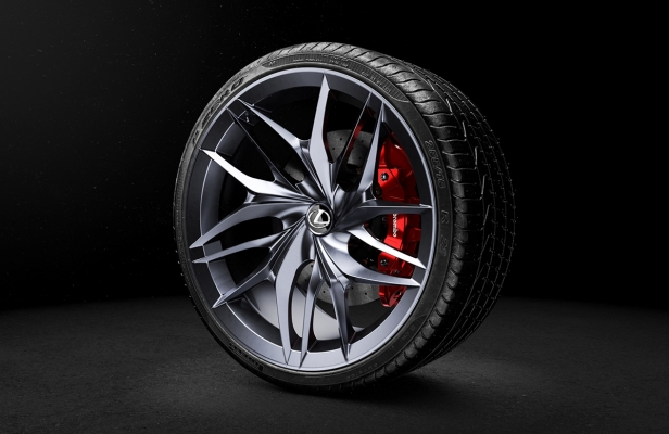 Lexus Wheel by Roman Ustinov & Eugenia Voskresenskaya