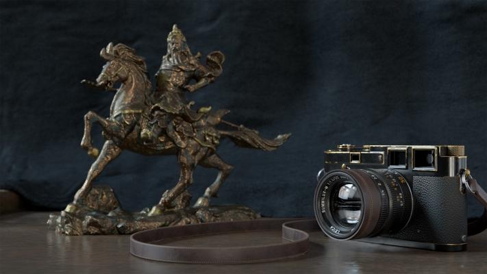 Bronze Statue by Giz Beardon