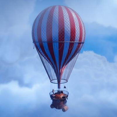 Steam Punk Balloon by Giz Beardon