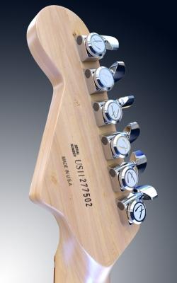 Fender Headstock by Luiz Lobato
