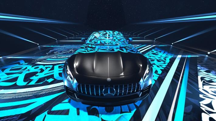 Mercedes-AMG GT R by Roland Azhiba