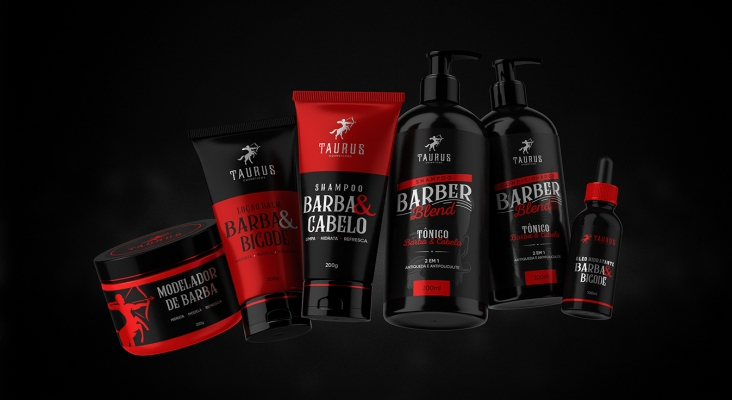 Taurus Cosmetics Pack shot by Paulo Júnior
