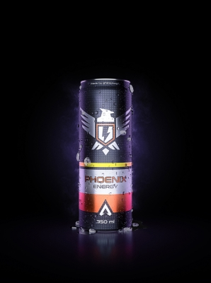 Phoenix Energy Drink by Fábio Koga