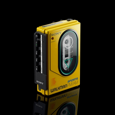Sony Walkman by Jason Zigrino