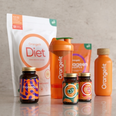 Orangefit Diet Supplements by Urge Studio