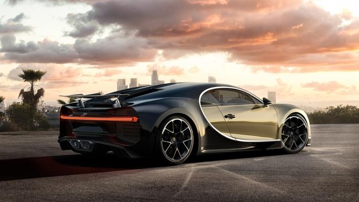 Bugatti Chiron by Benjamin Grimes