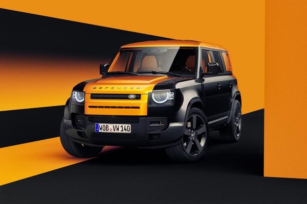 Land Rover Defender 2020 by Vasiliy Vatsyk