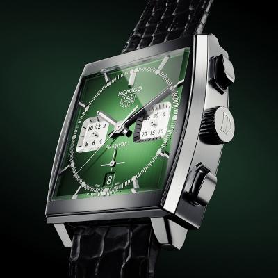 Tag Heuer Monaco Watch by Tobi Jenkins