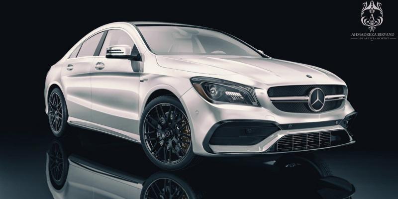 Mercedes-Benz CLA by Ahmadreza Birvand