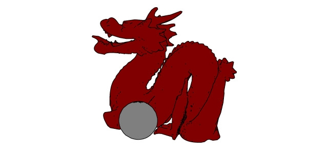 Dragon and ball