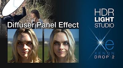 Diffuser Panel Effect