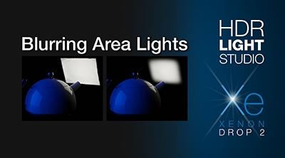 Blurring Area Lights