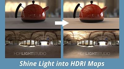 Shine a Light into a HDRI Map