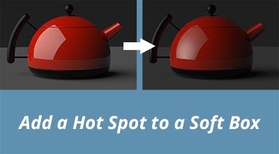 Add a Hot Spot to a Soft Box