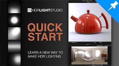 HDR Light Studio - Quick Start