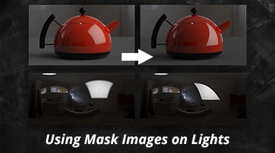 Using Mask Images on Lights