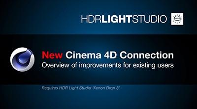 New Cinema 4D Connection - Improvements