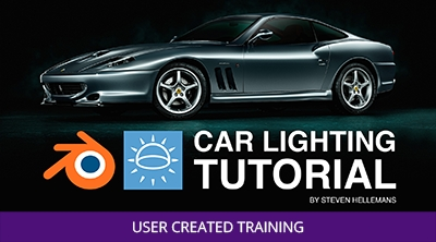 Blender and Cycles - Car Lighting Tutorial