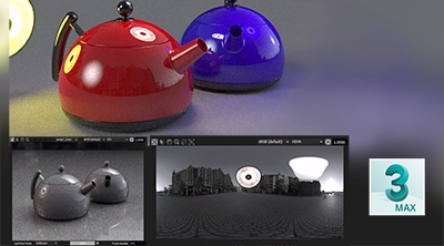 Using Area Lights in HDR Light Studio with 3ds Max